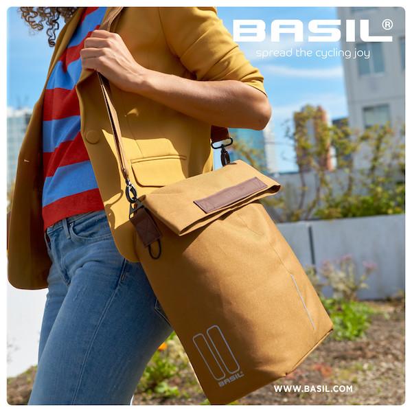 Basil City Shopper Camel Bruin