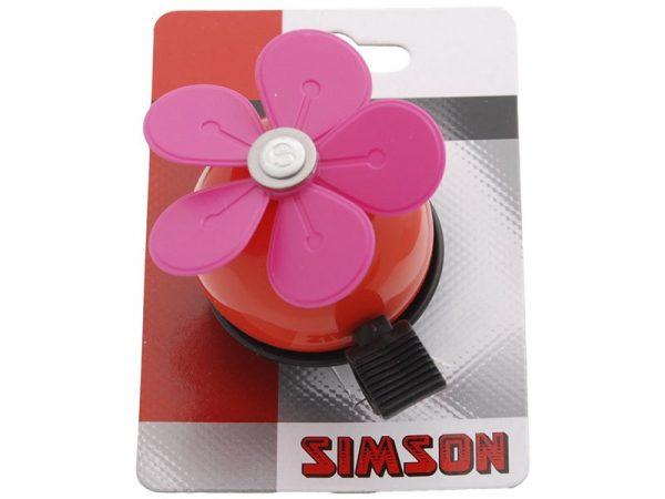 Simson Bel Bloem rood-roze